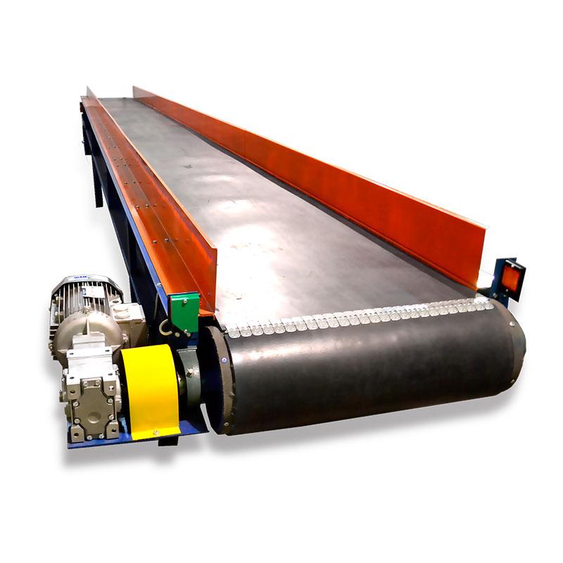 Безроликовые ленточные конвейеры для лестничные транспортеры